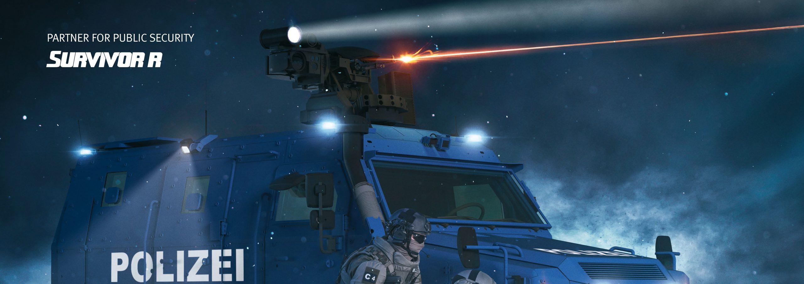 Rheinmetall Survivor R Polizei mit AHD M-215X
